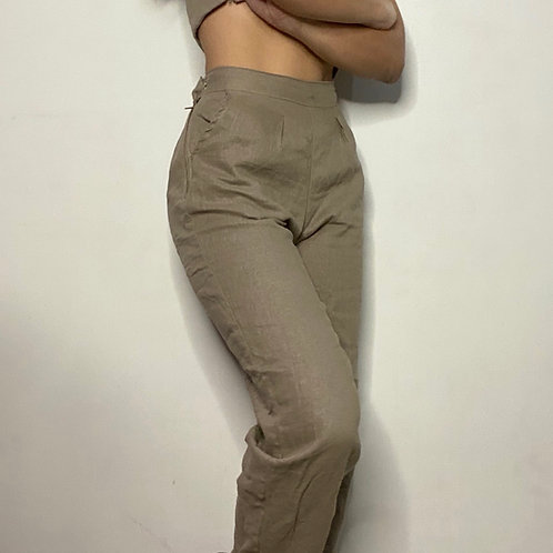 Leah Cropped Trousers