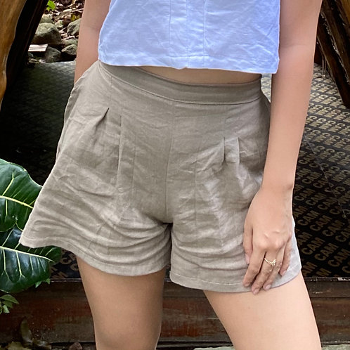 Meg High-waisted Shorts
