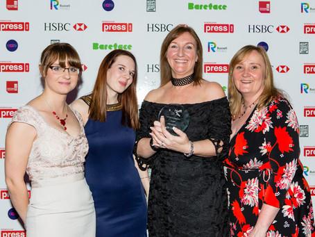 Burton's Best, say Media Awards Judges