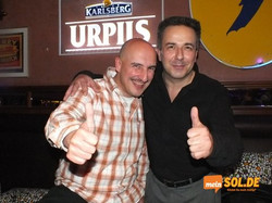 mit DJ Frank Merten