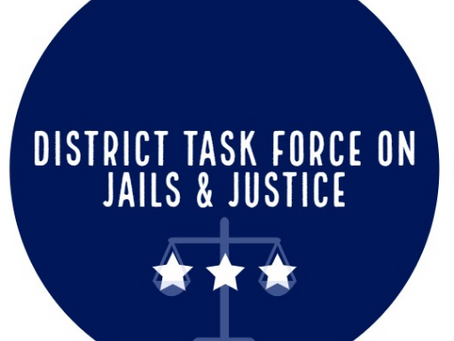 YDW6 Salon: District Task Force on Jails & Justice - Thursday, April 22
