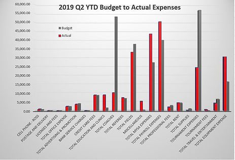 2019 Q2 YTD Budget to Actual Expenses.JP