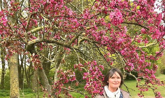Helen and Crab Apple Blossom.jpg