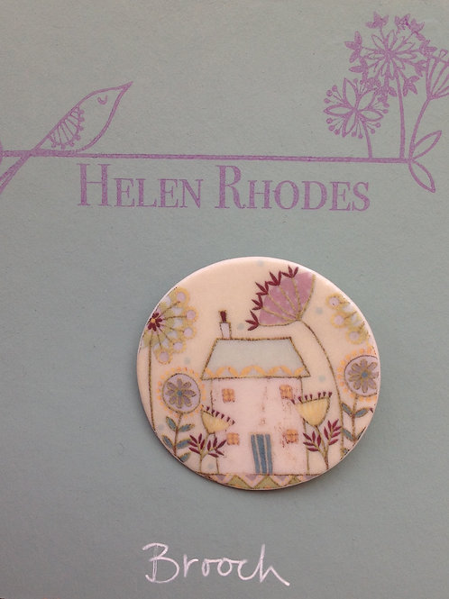 """Road to Happiness"" Brooch"