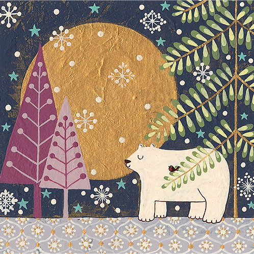 """""""Peaceful Polar Bear"""""""