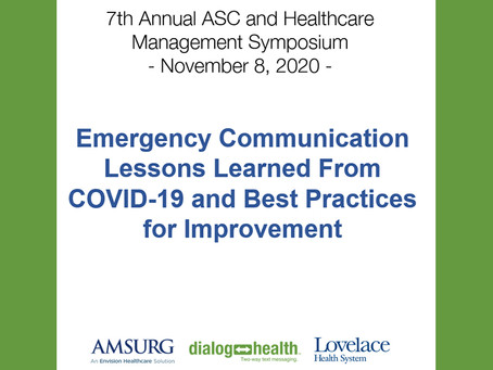 Now Available: Crisis Communication Presentation Recording
