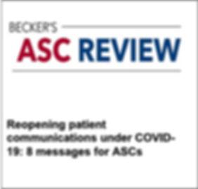 Becker's ASC REVIEW DIALOG HEALTH TEXTIN