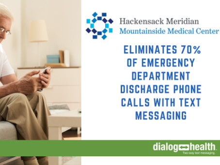 Texting Eliminates 70% of Emergency Department Discharge Phone Calls