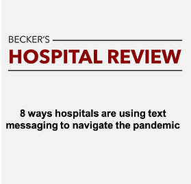 8 ways hospitals are using text messagin