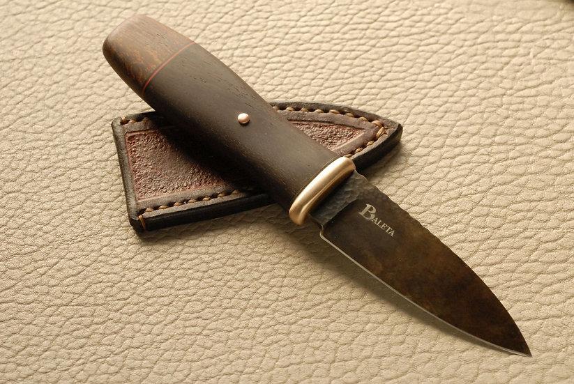 Sgian Dubh - Copper, Katalox & Camelthorn