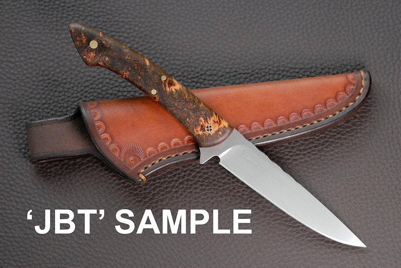 Custom Order : The 'JBT' - Damascus and Ironwood