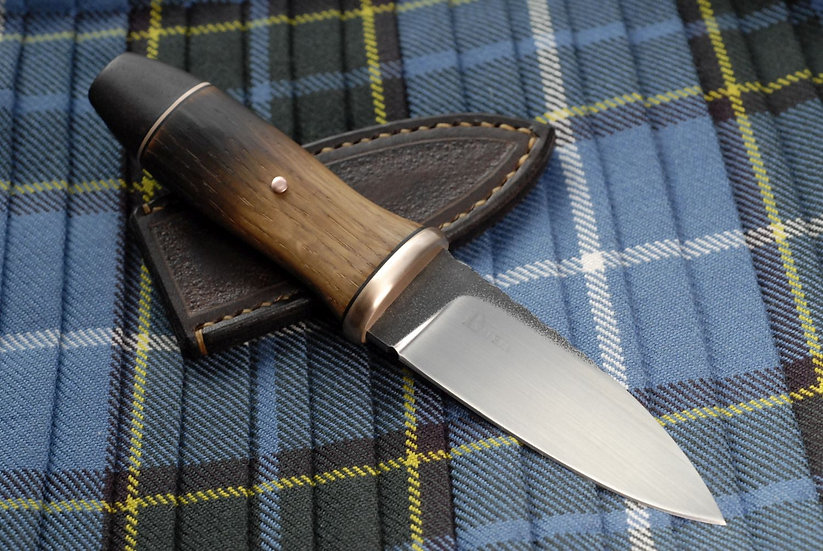 Sgian Dubh 'Scavaig' - Copper, Flamed Oak and Katalox