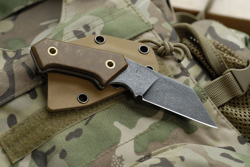 TAC-LW - Tufnol Neck knife