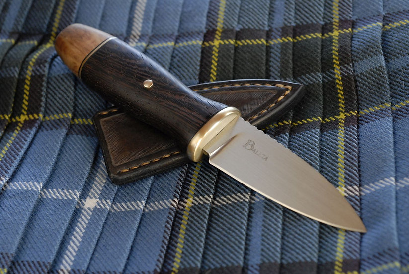 Sgian Dubh - Brass, Wenge and Goldfield
