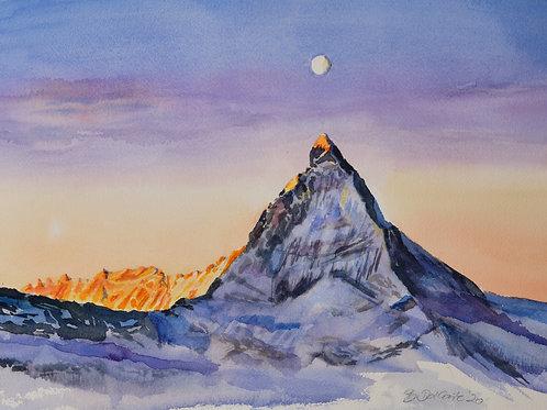 Abendstimmung am Matterhorn (VS)