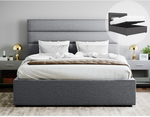 King Size Gas Lift Storage Bed Shapeyourminds Com
