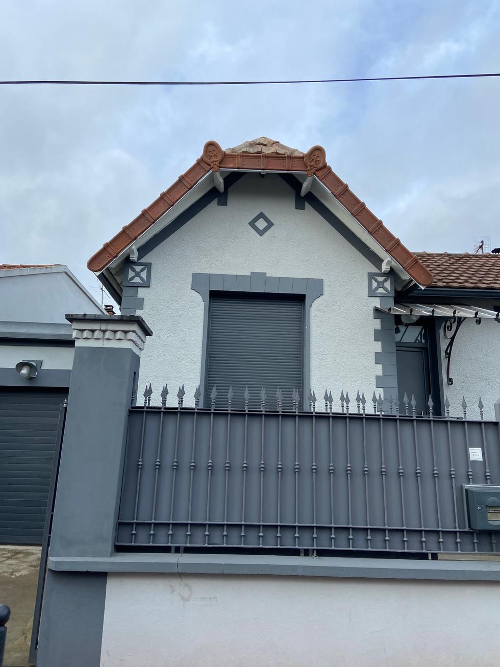 Résultat final rénovation de toiture