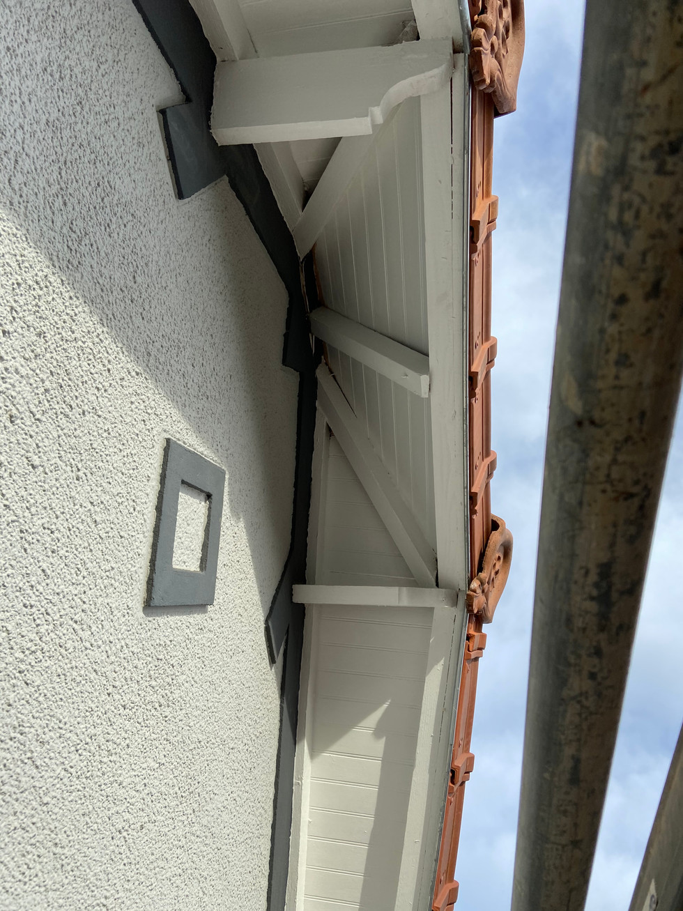 Après rénovation de la toiture