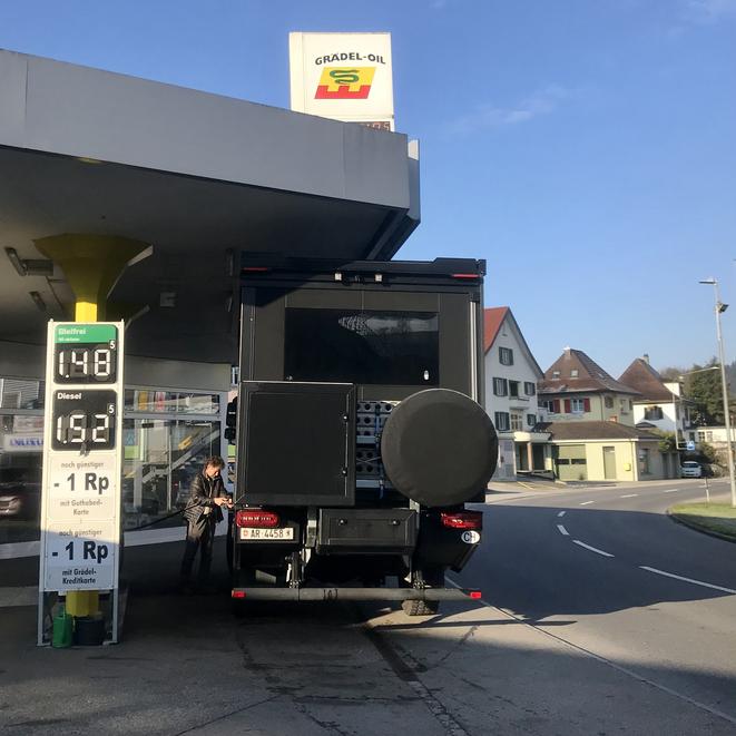 Mit Abstand günstigster Dieselpreis