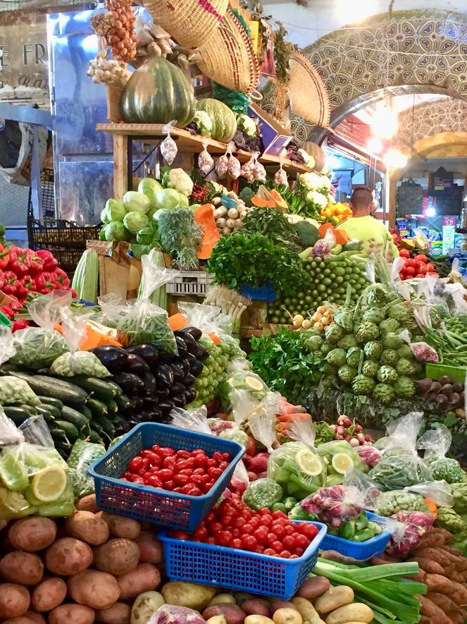 Markthalle in Tanger