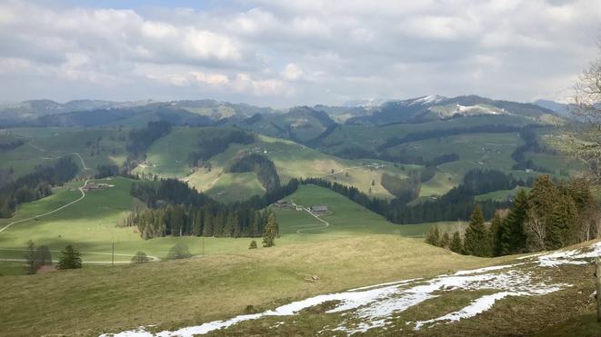 Auf der Fahrt Richtung Schallenberg