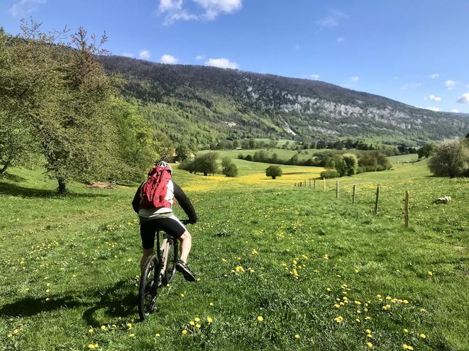 E-Bike Tour 844 Les Prés d'Orvin