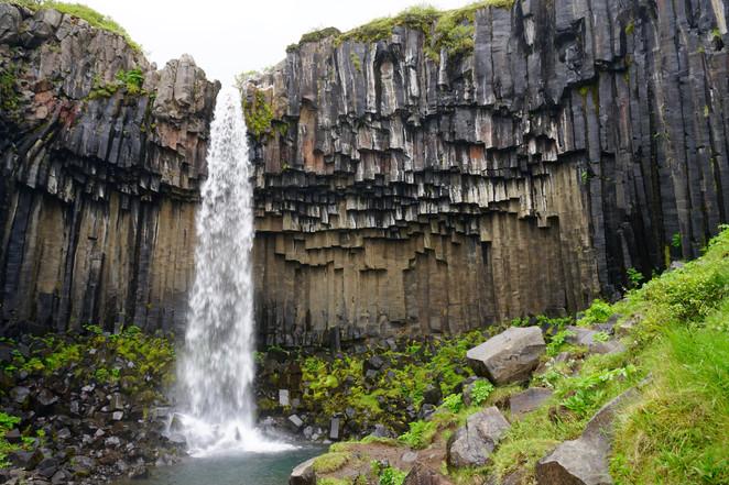 """Svartifoss """"der schwarze Wasserfall"""""""
