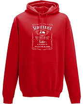 finest quality scooterist hoodie lambret