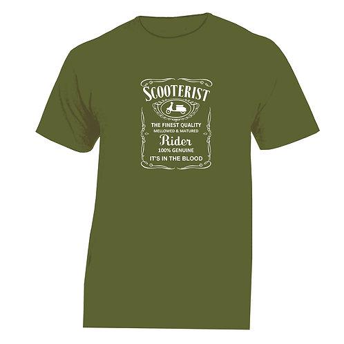 FINEST QUALITY SCOOTERIST Tshirt Lambretta