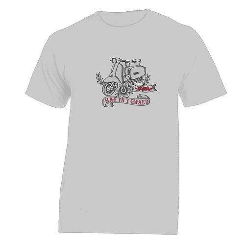 MAE YN Y GWAED/Lambretta Tattoo Tshirt