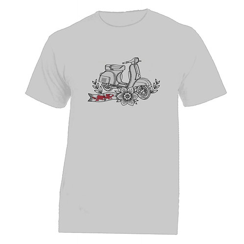 Vespa Wales Tattoo Tshirt Without Banner