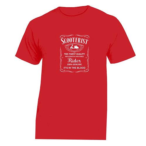 FINEST QUALITY SCOOTERIST Tshirt Vespa