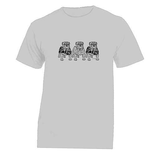 3 Bulldogs Tshirt