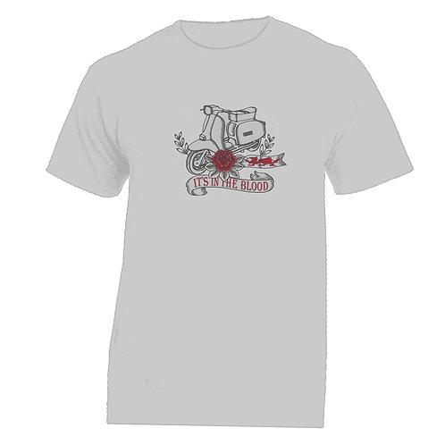 It's In The Blood/Lambretta Wales Tattoo Tshirt