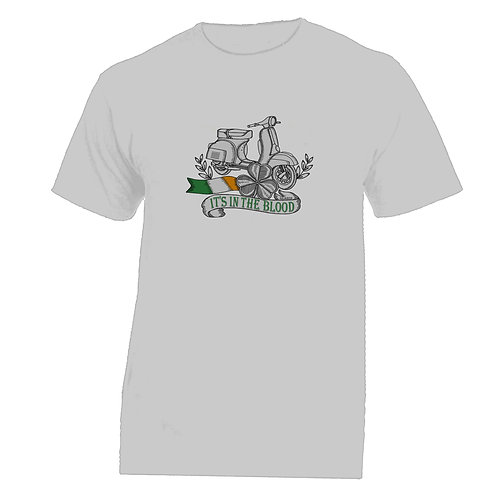 It's In The Blood/Vespa Ireland Tattoo Tshirt