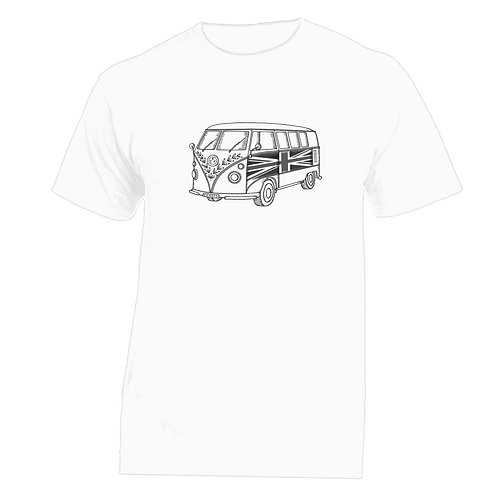 Camper Van Tattoo Tshirt