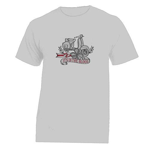 It's In The Blood/Vespa Northern Ireland Tattoo Tshirt