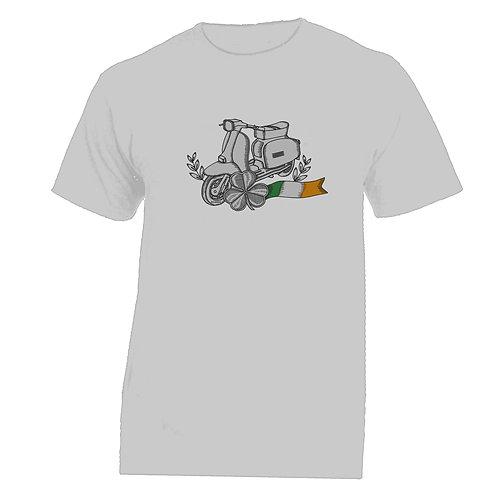 Lambretta  Ireland Tattoo Tshirt Without Banner