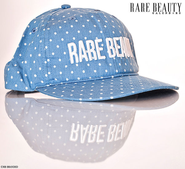 RARE BEAUTY 3D Stitched Poka dot Hat