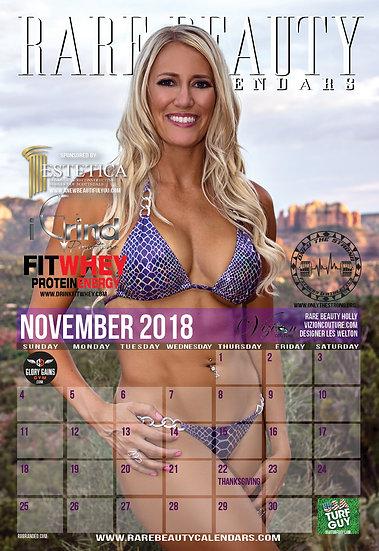 Rare Beauty Calendars 2018