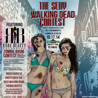 Rare Beauty Calendars & Murphy's Law Zombie Bikini Contest