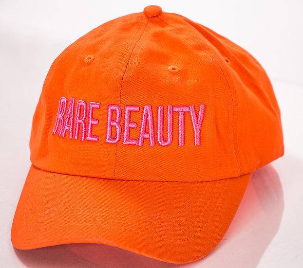 Tangerine Orange, Pink RARE BEAUTY Dad Hat