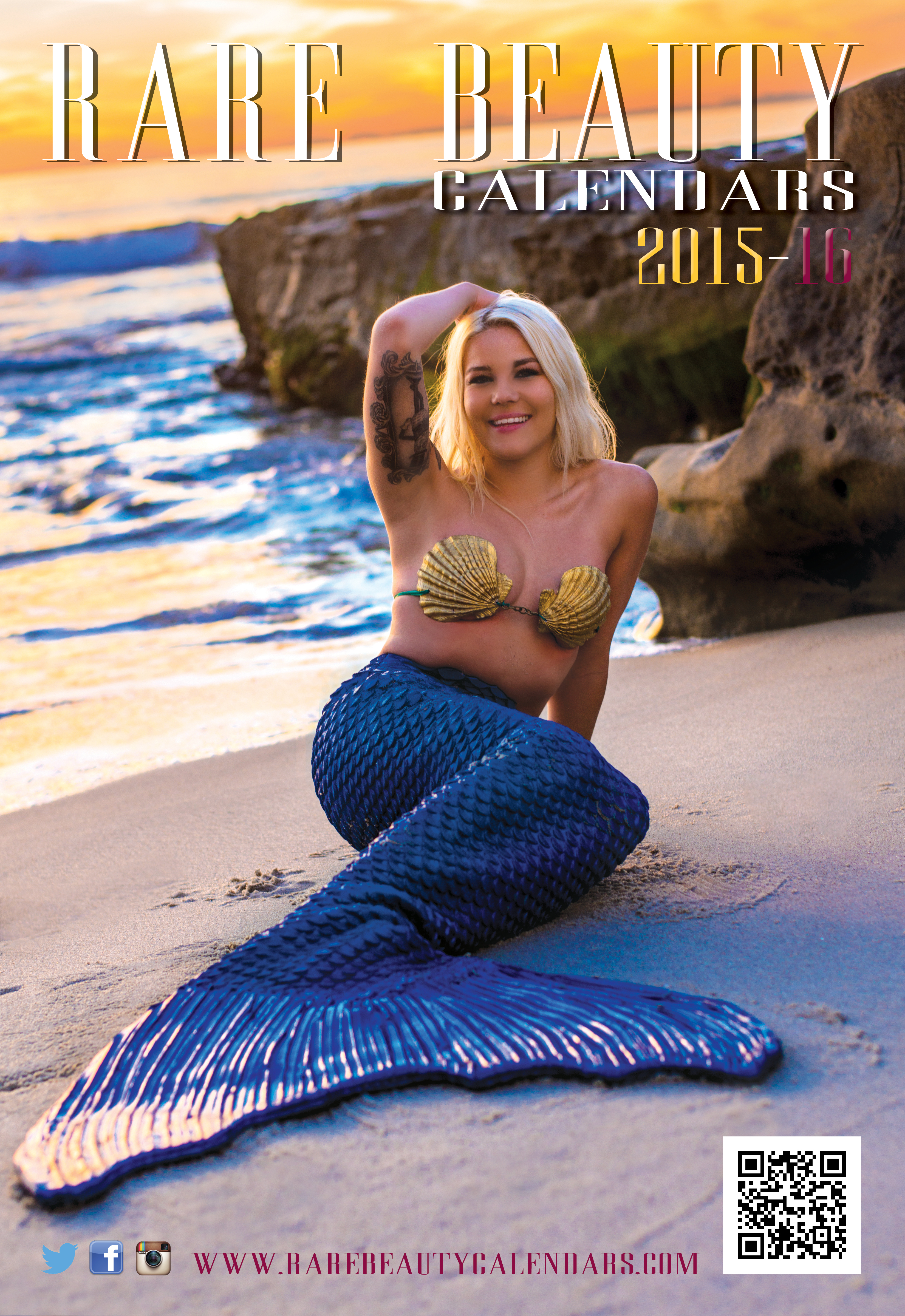 Rare Beauty Calendars 2015-16