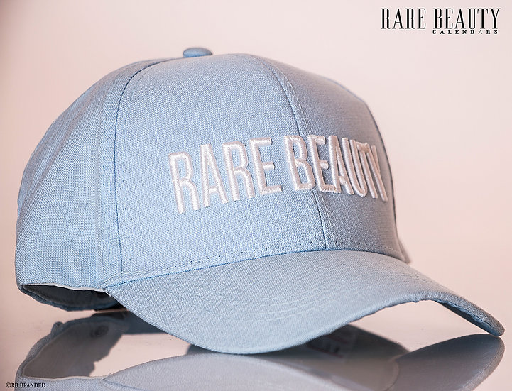Baby Blue 3D RARE BEAUTY Stitched Hat