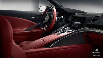 The Return of Acura's Rarest Beauty ACURA NSX 2015