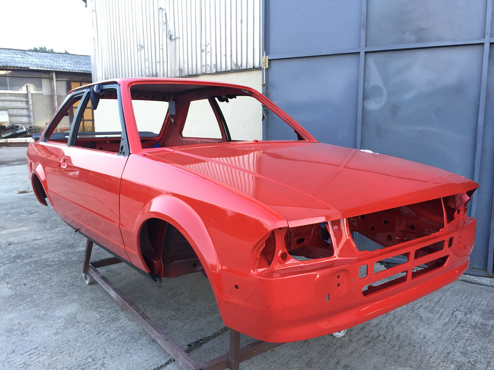Ford Escort xr3 body painted