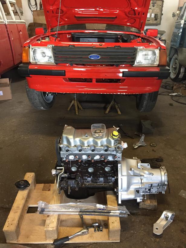 Ford Escort xr3 motor getriebe