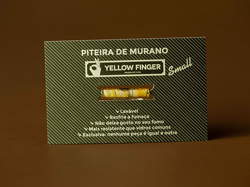 Piteira Yellow Finger Murano Small