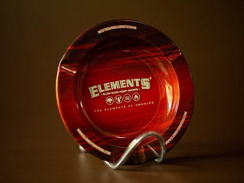 Cinzeiro Metal Aberto Elements Red
