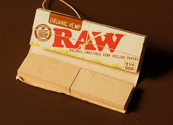 Seda Raw Organic Hemp 1 1/4 c/ tips